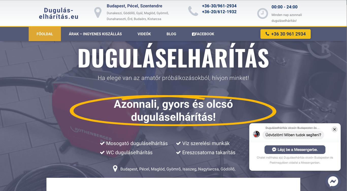 dugulas-elharitas-pecel-weboldal-készites-wordpress