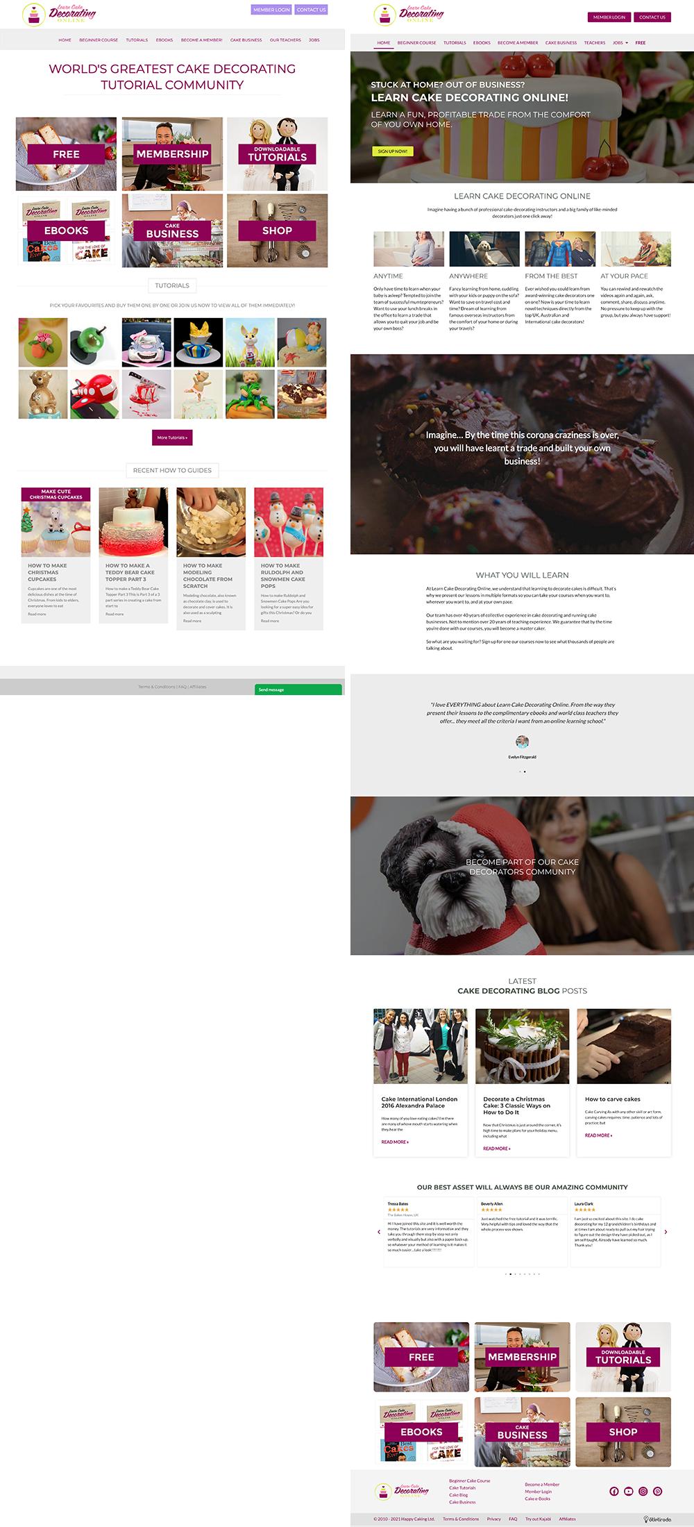Online sütidekorálás kurzusok - LearnCakeDecoratingOnline.com 1