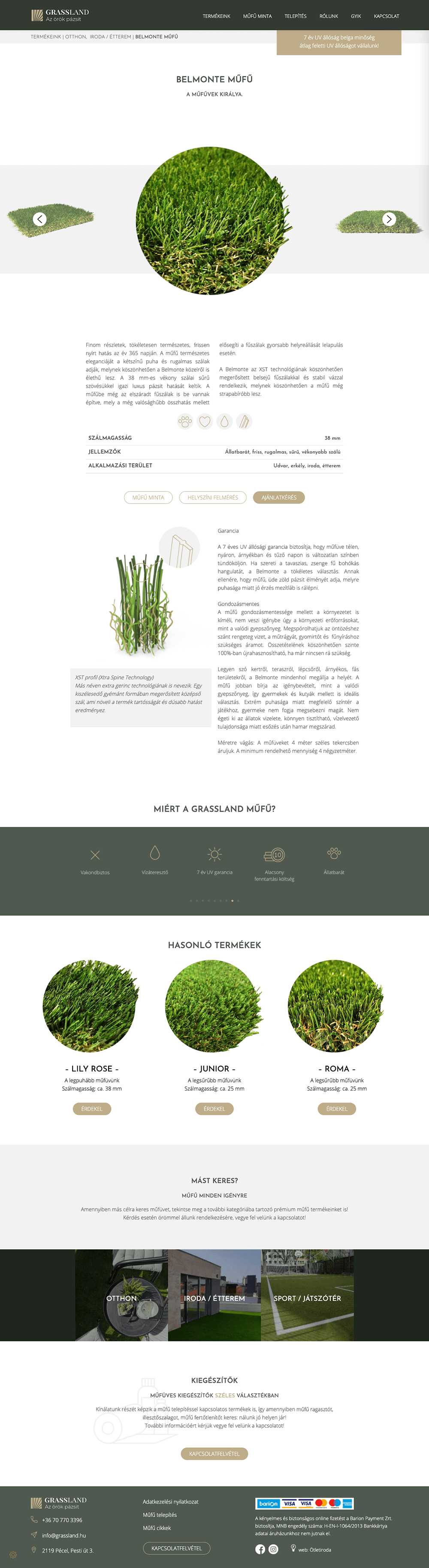 grassland-termekoldal
