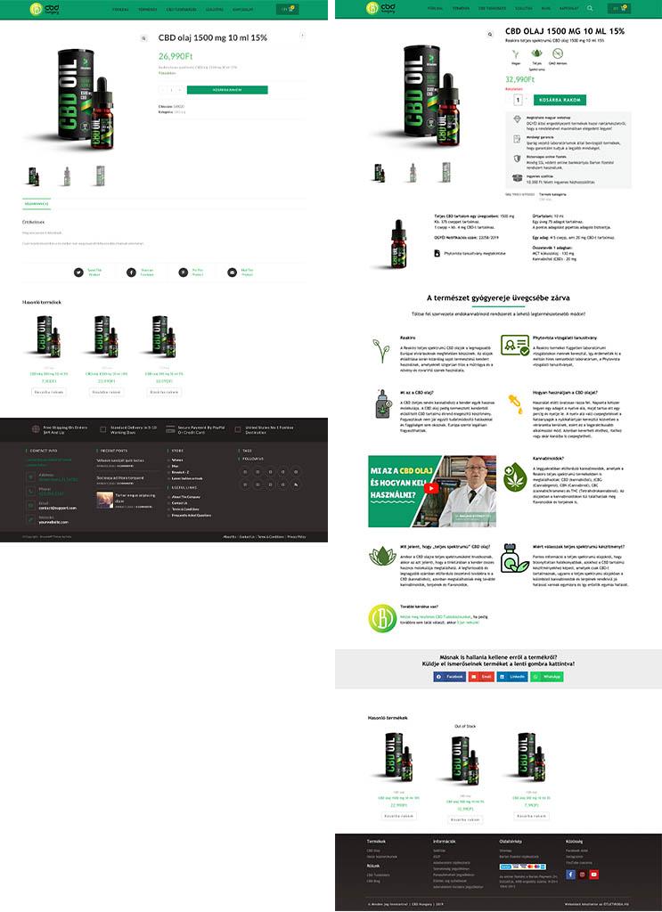 Weboldal & webshop készítés 1