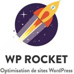 wp rocket logó wordpress weboldal gyorsítás lista most